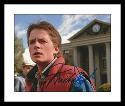 ULTRA COOL - BACK TO THE FUTURE - MICHAEL J FOX - AUTHENTIC SIGNED AUTOG... - $199.99