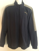 Puma Men's XL Full Zip Sweatshirt Jacket Never Worn Blue & Gray (bin 5) - $23.17