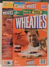 2001 DAVID PEARSON #21 WHEATIES LEGENDS OF RACING COLLECTIBLE  CEREAL BO... - $75.00