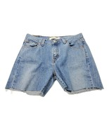 Levi's Women's 515 Denim Shorts Cut-Off Frayed Hem Medium Wash Size 6  - $12.59