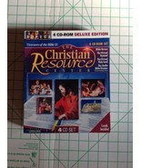 The Christian Resource Treasures Of The Bible 2 4 CD Rom Set - $24.75