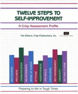 Twelve Steps To Self-Improvement by The Editors of Crisp Pub - $5.00