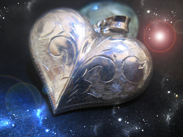 HAUNTED NECKLACE ALEXANDRIA HEART OF MY MASTER MAGICK HIGHEST LIGHT OOAK... - $10,007.77
