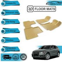 3D Molded Floor Mats Liner Interior Protector Fit for Audi Q5 Suv 2009-2017 - $67.24