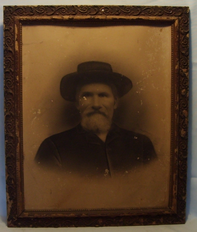Antique Photo Of Man 1880 Home Wall Decor Victorian