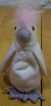"Ty Beanie Baby Kuku The Cockatoo Bird 6"" Plush Stuffed Animal Toy - $15.35"