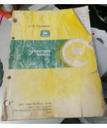 JOHN DEERE CTS COMBINE OPERATORS MANUAL BOOK - $37.99