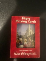 Sealed New Photo Playing Cards With Images From Walt Disney World - $7.10