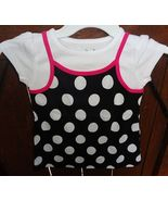 Polka Dot Girl's Size 5T Jumping Beans Top - $7.99