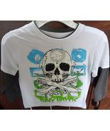 Tonly Hawk Size 4 Boy's Shirt with Skull in the front - $9.99