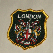 """London Dirige 3"""" Embroidered Sewn World Travel Patch - $9.07"""