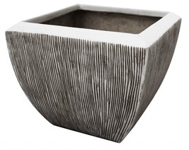 Large Distressed and Ribbed Flower Pot Planter - $763.91