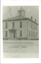 Vintage ~1940s Kodak Real Photo Postcard RPPC Logan County Court House G... - $34.95