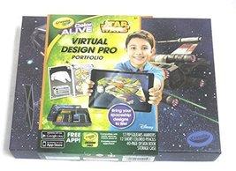 Crayola Color Alive Star Wars Virtual Design Pro Portfolio - $9.89