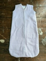 Hanna Andersson Sleep Sack Size Small Sherpa Lined Purple Quilted 3-6m - $19.79