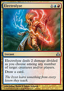 MTG x4 Electrolyze (Guildpact) NEAR MINT + BONUS!