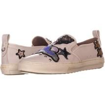 Coach C115 Perforiert ohne Bügel Sneakers 209, Kreide Star, 7 US - $97.19