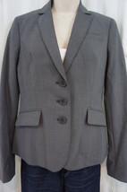 Anne Klein Platinum Anzug Trennt Jacke 0 Dunkel Stein Grau Klassik Blazer - $79.16