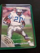 1996 Fleer Barry Sanders #47 Detroit Lions - $9.99