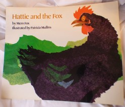 """Hatti and the Fox MemFoxBIG Book 1990 Paperback 18""""WideClass Size Te... - $12.65"""