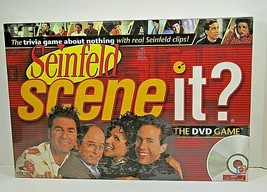 Seinfeld Scene It Game 2008 Mattel DVD Game New Sealed Mattel Games - $9.49