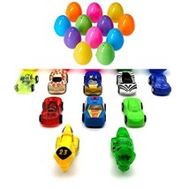 Disrerk- Car Toys Gifts for Toddlers - Filled Pull Back Vehicles Bright ... - $2.59 CAD