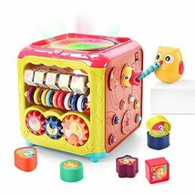 CUTE STONE Baby Activity Cube Toy,6 in 1 Multi-Functional Learning Cube ... - $61.99