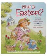 WORTHY KIDS Michelle Medlock Adams WHAT IS EASTER? Board Book CHILDREN 2... - $9.89