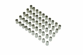 """4 Ga. Non-Insulated Ferrules Tin Plated Copper Tuber, 0.59"""" Pin Lg. (Pack of 50) image 2"""
