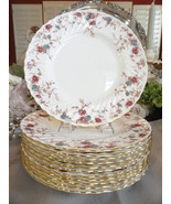 Minton Ancestral S376 Enameled Porcelain Dinnerware Set - Service for 12  - $1,100.00