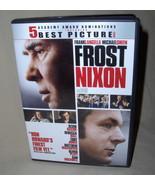 Frank Langella  Frost Nixon   DVD - $6.95