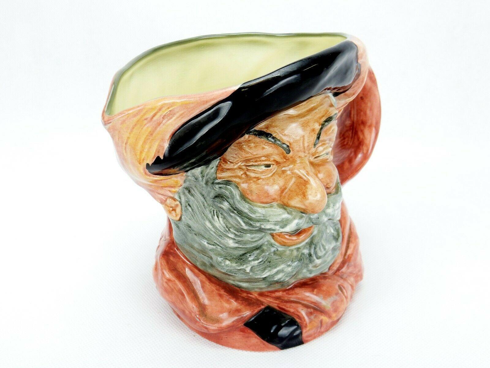 "Vintage Royal Doulton England Falstaff Toby Mug Jug D-6287 6.5"" 1949"