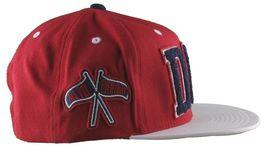 DGK Dirty Ghetto Kids Mens Red White Navy Graduate Snapback Baseball Hat NWT image 3