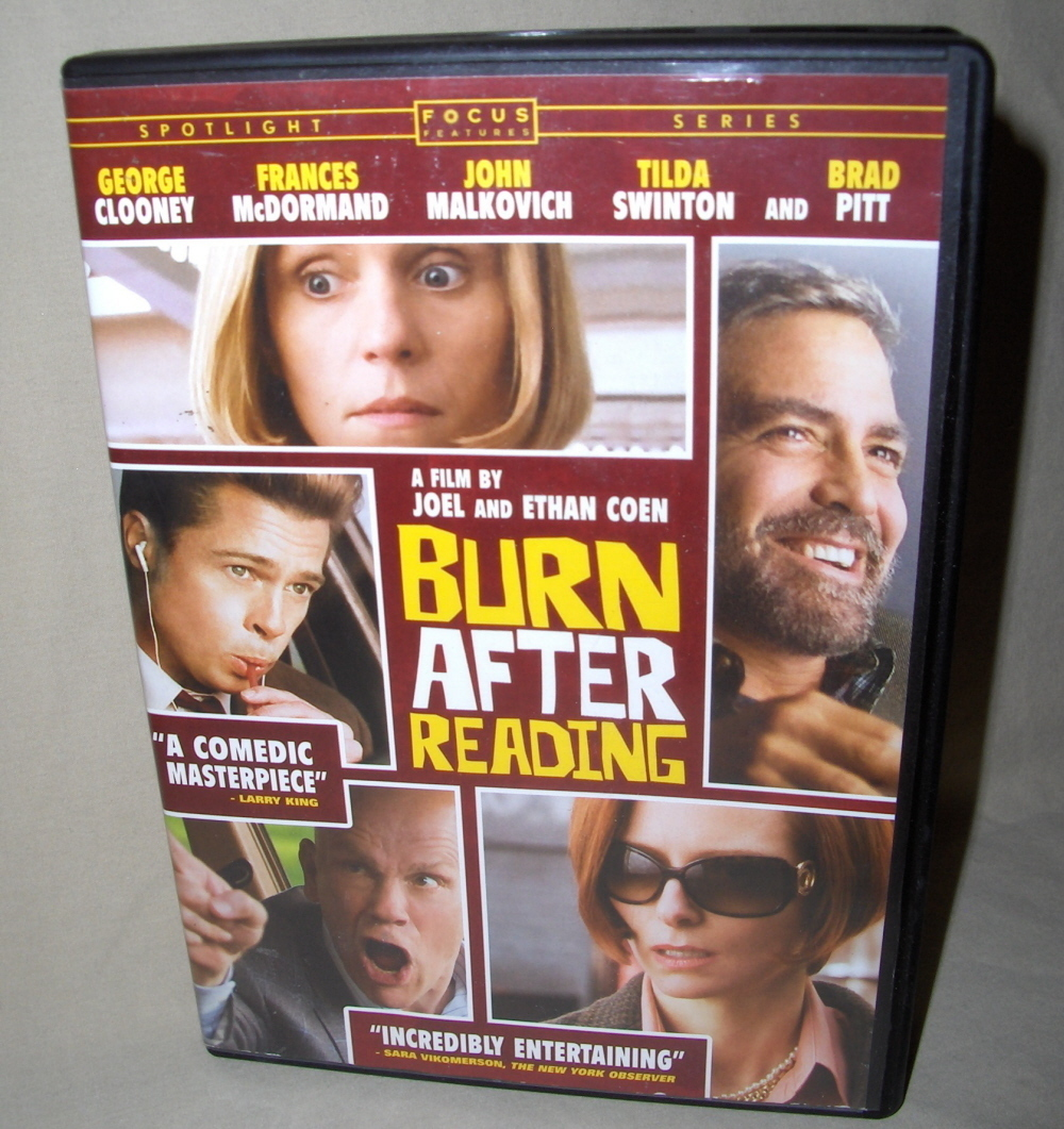 Dvd  burn after reading   george clooney002
