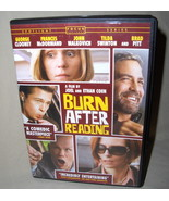 George Clooney  Burn After Reading  DVD - $6.95