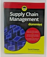Supply Chain Management For Dummies by Daniel Stanton 9781119410195 - $28.99