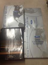 2005 Ford Thunderbird Service Repair Shop Manual Set W EWD PCED + Facts Book - $277.15