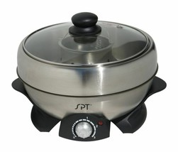 Shabu Shabu Maker Grill Steamer Multipurpose Cooker Pan w/ Accessory Kit... - €66,67 EUR