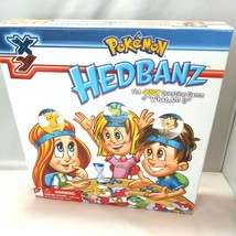 XY Pokemon Hedbanz Board Game Family Fun 7+ Replacement Parts Only EUC  - $7.91