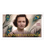 2015 93c Flannery O'Connor, Literary Arts Scott 5003 Mint F/VF NH - €1,62 EUR