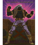 Marvel Masterpieces 1993 Spectra Card S4 - Metalhead - $2.95