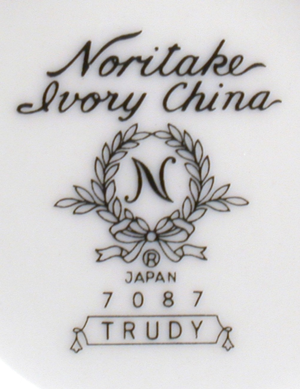 Noritake Trudy 6-inch Saucer Only 7087 Unused Stock China