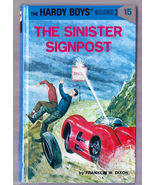 HARDY BOYS The Sinister Signpost by FRANK DIXON Hardcover Book 1995 - $4.00