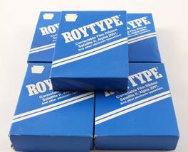 Set of 5 Correctable Typewriter Ribbons Roytype Sealed Royal Typewriters - $18.69