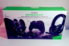 XBOX ONE DreamGear Advanced Gamer's Starter Kit for Xbox One, 8 Piece. New - $48.99