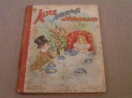 Alice Adventures in Wonderland 1890's-1900's Antique Book Illus. by John... - $28.04
