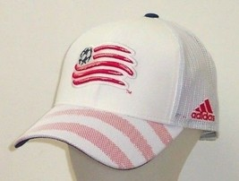 New England Revolution adidas MLS Authentic Team Structured Snapback Mesh Hat - $19.99