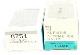 LOT OF 2 NIB POTTER & BRUMFIELD KUP-14D15-6 RELAYS KUP14D156