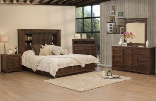 Anton Brown Queen Size Storage Bed
