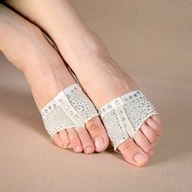 Sequins Heel Protector Professional Ballet Dance Socks Belly Dancing Foo... - $16.99